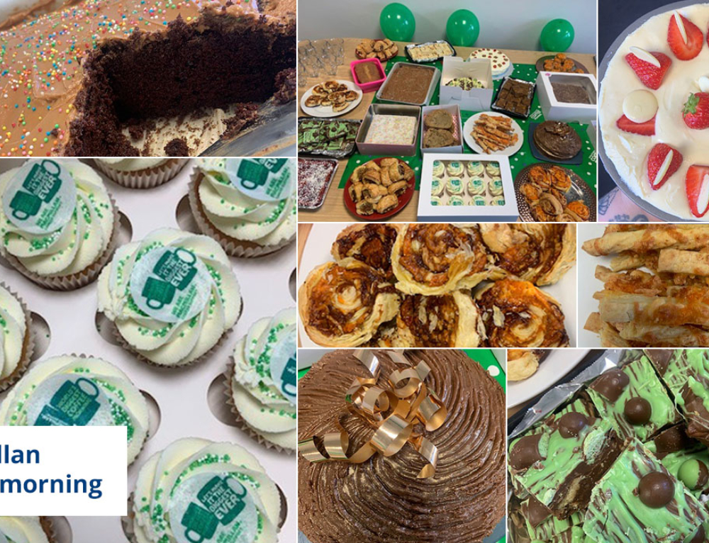 Liftec raises a grand total of £1000 from our Macmillan Coffee Morning